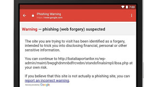 gmail phishing w782 - email to protect you from scammers