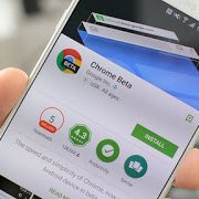 chrome beta hero 1 w782 180x180 - 5 best browser for Android phones