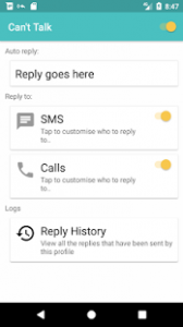 unnaCant talkmed 168x300 - How to Auto-reply text messages and calls on Android phone.