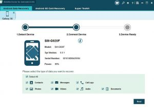 mobikin3 w782 300x212 - How to recover deleted data on your Android phone and SD card.