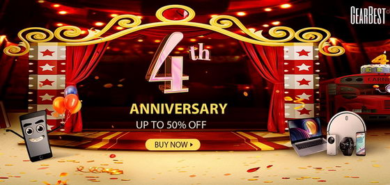 1Gearbest1 - The Hottest Deal on GearBest 4th Anniversary Carnival (Grab yours now)
