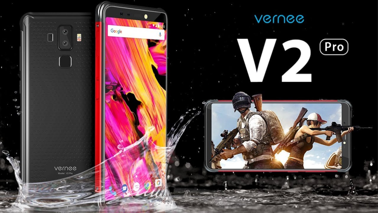 Vernee V2 Prot - Vernee V2 Pro Price, Specs, Features and Review.