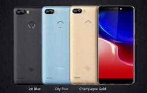 Itel P32 300x191 - Latest iTel Phones 2020 With Fingerprint And Prices