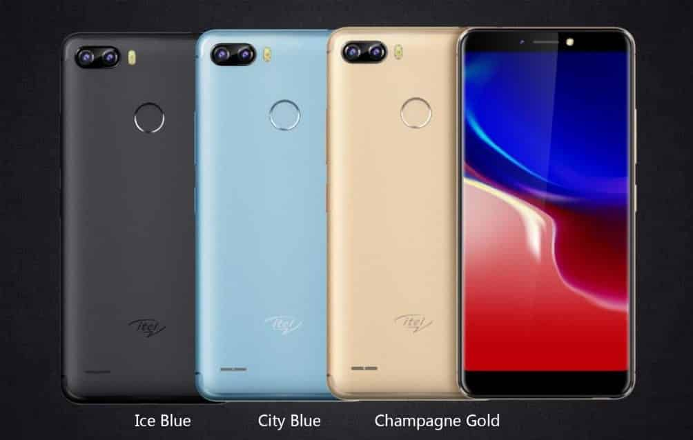 Itel P32 - Latest iTel Phones With  Fingerprint Scanner, Specs And Prices 2018.