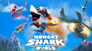 download 11 1 - Download Hungry Shark World MOD APK 3.0.0 + OBB (Unlimited Money/Gems).