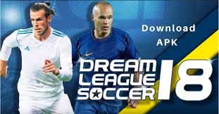 download 20 - Dream League Soccer 2018 APK MOD + Data Unlimited Money.
