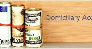 Domiciliary Account