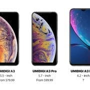 Umidigi A3, A3 Pro, A3Max