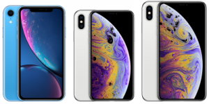 iphone XS, XS Max & XR