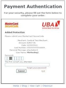 UBA Code