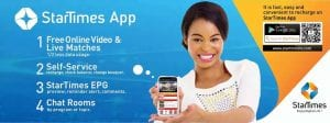 Startimes Mobile Application