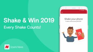 Opera news shake and wins 2019