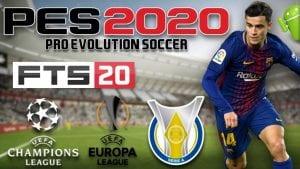 PES 2020 Mod Apk FTS+