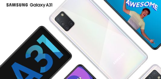 Samsung Galaxy A31 specs