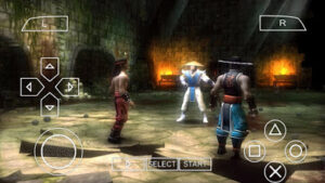 Mortal Kombat Shaolin Monks PPSSPP