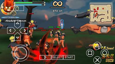 Naruto Ultimate Ninja Impact Storm 2 PPSSPP 2