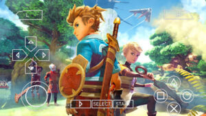 Oceanhorn 2 Knights of the Lost Realm PPSSPP