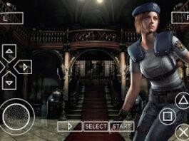 Resident Evil 1 PPSSPP 2
