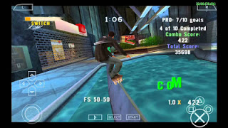 Download Tony Hawks Project 8 PSP ISO for PPSSPP 4